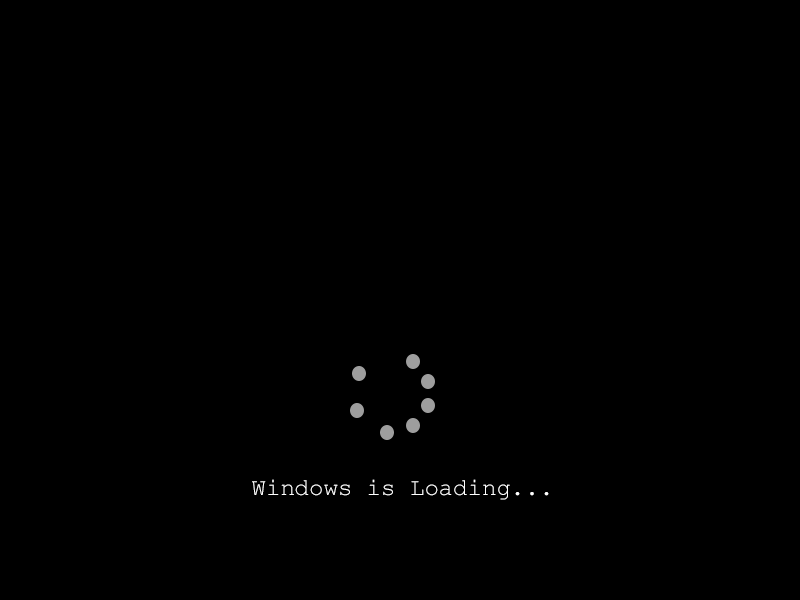 Windows Loading Screen